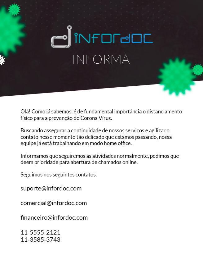 Comunicado Infordoc - COVID-19